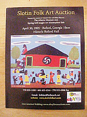 Slotin Folk Art Auction Catalog - April 2005 (Image1)