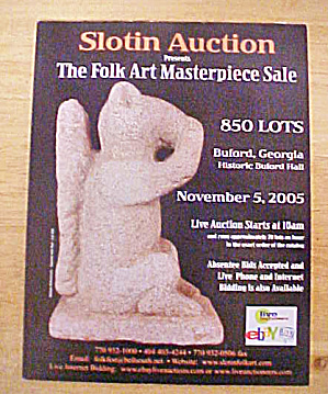 Slotin Folk Art Auction Catalog - Nov. 2005 (Image1)