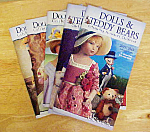 Dolls & Teddy Bears -  5  Catalogues  (Image1)