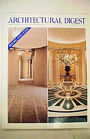 Architectural Digest - February 1994 (Image1)