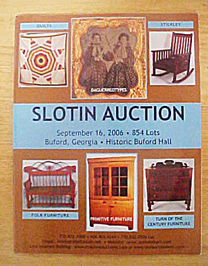Slotin Auction - September 2006