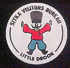 Vintage Pin-Back - Sitka, Alaska (Image1)
