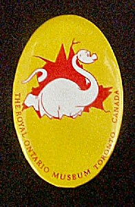 The Royal Ontario Museum - Pin-Back (Image1)