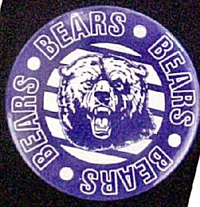 Bears Pinback Pin (Image1)