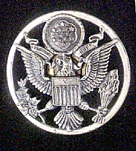 Vintage U.S. Military Uniform Hat Pin (Image1)