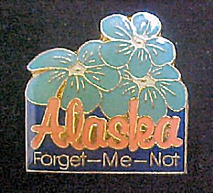 Alaska - Forget-Me-Not/Souvenir Pin (Image1)