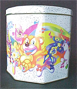 Cartoon Style Octagon Tin (Image1)