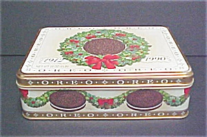 1990 Oreo Holiday Tin - Limited Edition