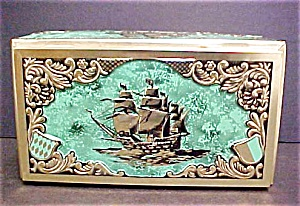 Vintage Western Germany Ship Tin (Image1)