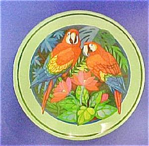 Round Parrot Tin (Image1)