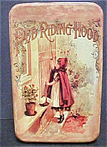 Vintage Little Red Riding Hood Tin
