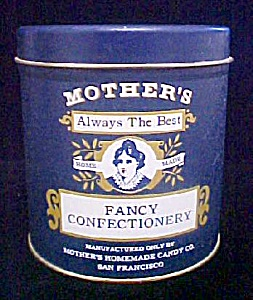 Mother's Homemade Candy Co. - Advertising Tin