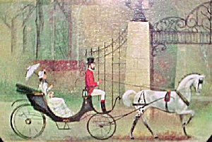 Decorative Tin Container - Carriage Ride (Image1)