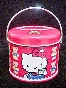 Hello Kitty Small Tin Bank (Image1)