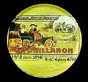 G. Fouillaron Vintage French  Advertising Tin (Image1)