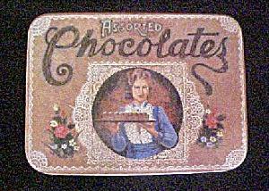 Vintage Decorative Tin - Assorted Chocolates (Image1)