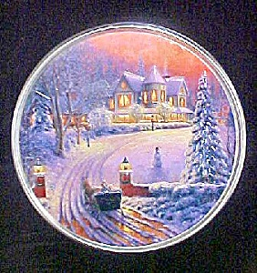 Winter Scenic Tin Container (Image1)