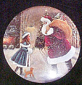 Yes, Virgina, There is a Santa Claus Tin (Image1)