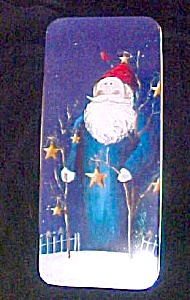 Santa Tin Box - Starry Night