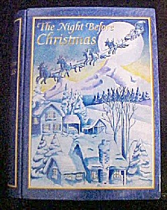Night Before Christmas Tin Container