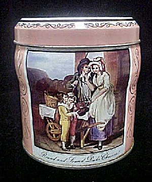 Cries of London English Tin Container (Image1)