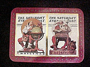 Saturday Evening Post Tin Container