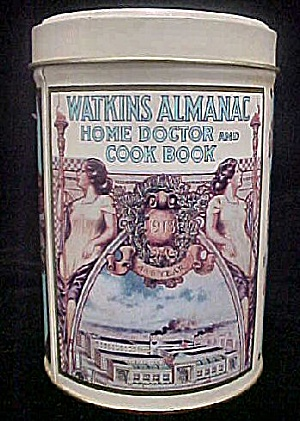 Watkins Almanac Home Doctor Tin Canister (Image1)