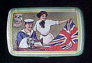 Singer Sewing Machines Advertising Tin (Image1)
