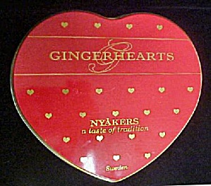 Gingerhearts Tin - Heart Shaped (Image1)