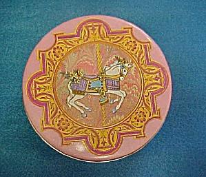 Merry Go Round Horse Circular Tin (Image1)