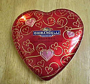 Ghirardelli Luscious Heart Tin - Advertising (Image1)