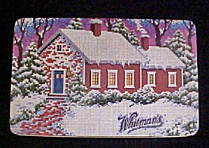Whitman's Chocolates 1992 Winter Cottage Tin