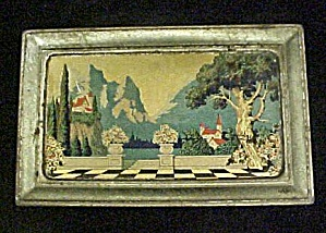 Vintage Artstyle Chocolates Tin Container (Image1)