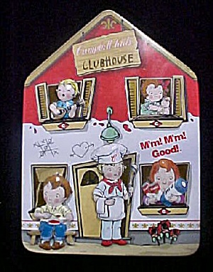 Campbell Kids Clubhouse Tin Container (Image1)