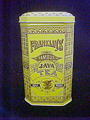 Franklin's Famous Java Tea Tin