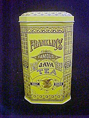 Franklin's Famous Java Tea Tin (Image1)