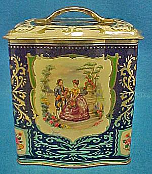 Victorian Style Tin - Vintage (Image1)