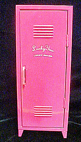 Lucky Brand Advertising Tin Locker (Image1)
