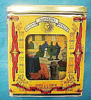 San Remo Buona Italia - Set 4 Tin Cannisters (Image1)
