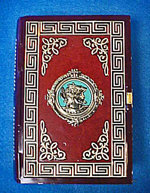 Roman Design Tin Book Container (Image1)