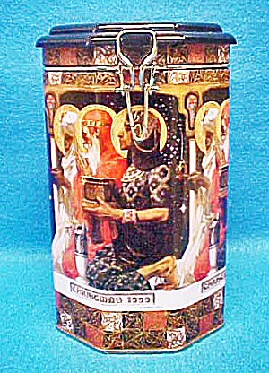 Three Kings Christmas Tin - Signed/dated