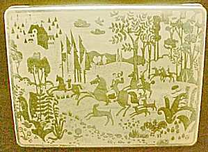 Hunting Scene - German Hinged Tin (Image1)