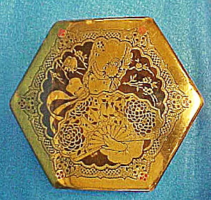 ArtStyle Engraved Brass/Red Eamel Tin (Image1)