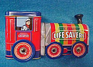 Life Savers Tin Train