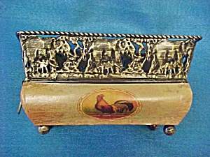Tin Container - Open Rectangular Vase (Image1)