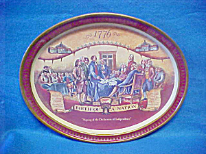 1776 Birth of a Nation Miller Beer Tray (Image1)