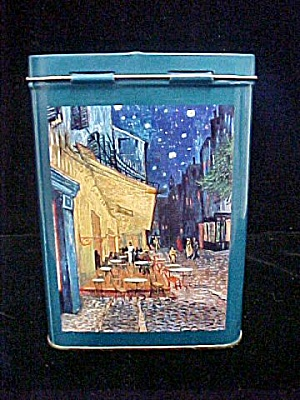 Vincent Van Gogh Tin Container