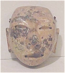 Click here to enlarge image and see more about item A126: Stone Ceremonial Mask - Mexican