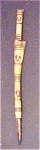 Click here to enlarge image and see more about item A249: Oceanic Carved  Bone Figural Totem