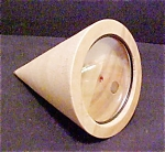Click here to enlarge image and see more about item A264: Unusual Cone Shape Wooden Frame